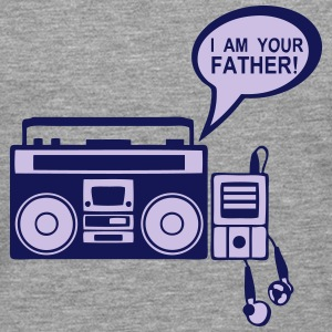 i_am_your_father K7 mp3-Radio-Player 0 Langarmshirts - Männer Premium Langarmshirt