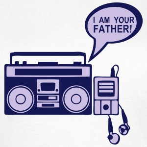 i am your father radio k7 mp3 lecteur 0 Tee shirts - T-shirt Femme