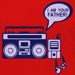 i_am_your_father K7 mp3-Radio-Player 0 Langarmshirts - Frauen Premium Langarmshirt