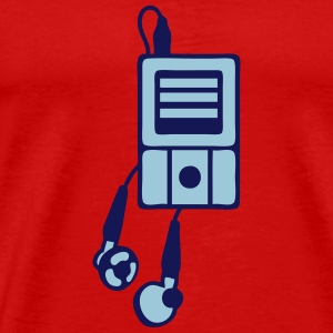 MP3-Player T-Shirts - Männer Premium T-Shirt