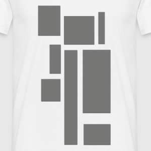 rectangles_gris_2 Tee shirts - T-shirt Homme