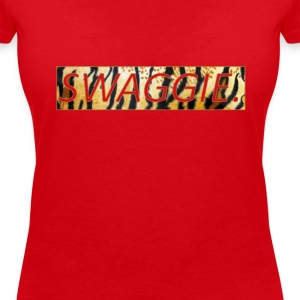 swaggie T-Shirts - Women's V-Neck T-Shirt
