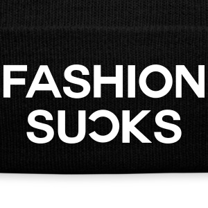 Fashion sucks Caps & Hats - Winter Hat