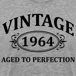 Vintage 1964 Aged to Perfection T-Shirts - Men's Premium T-Shirt