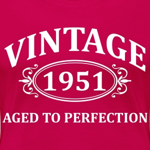 vintage 1951 aged to perfection T-Shirts - Women's Premium T-Shirt