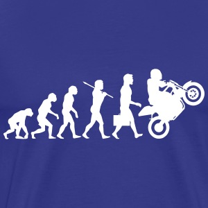 Evolution motard - T-shirt Premium Homme