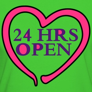 Heart 24 HRS T-Shirts - Women's Organic T-shirt