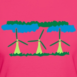 Windenergy T-shirts - Vrouwen Bio-T-shirt
