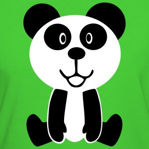 Sweet Panda Bear T-Shirts - Frauen Bio-T-Shirt
