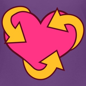 Heart Recycle Shirts - Kinderen Premium T-shirt