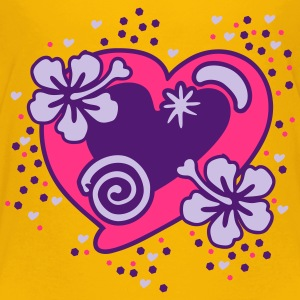 Heart and Flowers Shirts - Kinderen Premium T-shirt