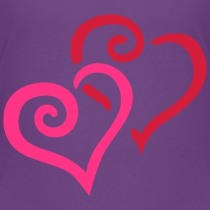 Heart Couple Tee shirts - T-shirt Premium Enfant