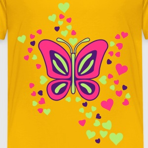Butterfly Heart Shirts - Kids' Premium T-Shirt
