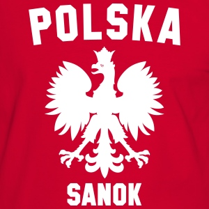 POLSKA SANOK T-Shirts - Men's Ringer Shirt