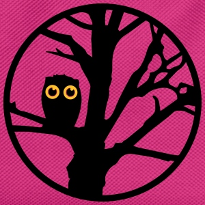 An owl sitting on a tree  Bags & Backpacks - Kids' Backpack