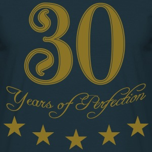 30 years perfection perfection star T-Shirts - Men's T-Shirt