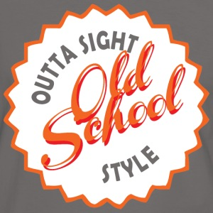 old school style T-Shirts - Men's Ringer Shirt