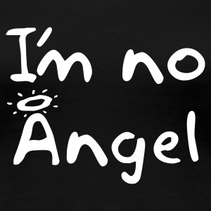 Women's loose fit 'No Angel' shirt - Women's Premium T-Shirt