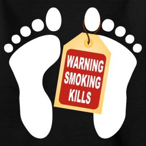 warning smoking kills 02 Shirts - Teenage T-shirt