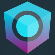 Design ~ Blue Logo-Only T-Shirt (Regular Edition)