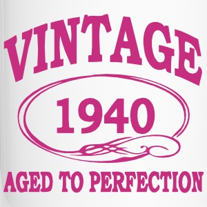 Vintage 1940 Aged to Perfection  Bottles & Mugs - Travel Mug