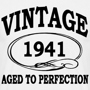 Vintage 1941 Aged to Perfection  T-Shirts - Men's T-Shirt