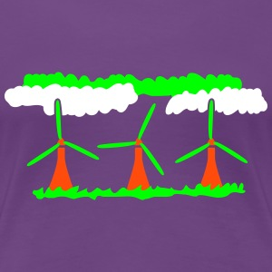 Windenergy T-Shirts - Women's Premium T-Shirt