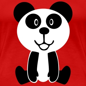 Sweet Panda Bear T-Shirts - Frauen Premium T-Shirt