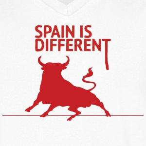 Spain is Different 2 Tee shirts - T-shirt Homme col V