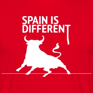 Spain is Different 2 (dark) Tee shirts - T-shirt Homme