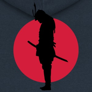 Japan Samurai Warrior (Japan flag) Pullover & Hoodies - Frauen Premium Kapuzenjacke