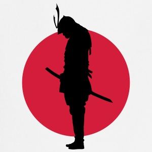 Japan Samurai Warrior (Japan flag) Forklær - Kokkeforkle