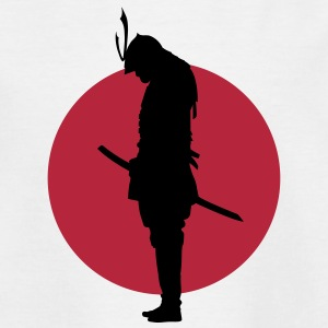 Japan Samurai Warrior (Japan flag) Tee shirts - T-shirt Enfant