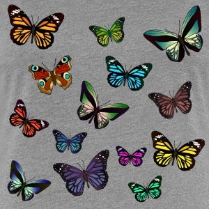 Butterflies flying T-Shirts - Women's Premium T-Shirt