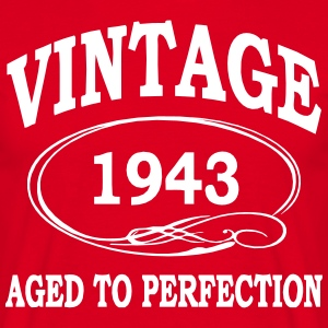 Vintage 1943 Aged to Perfection T-Shirts - Men's T-Shirt