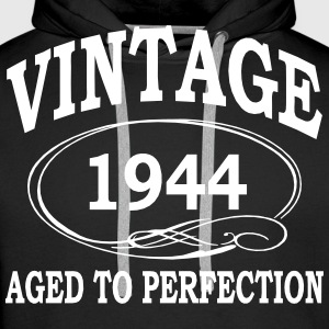 Vintage 1944 Aged to perfection Hoodies & Sweatshirts - Men's Premium Hoodie