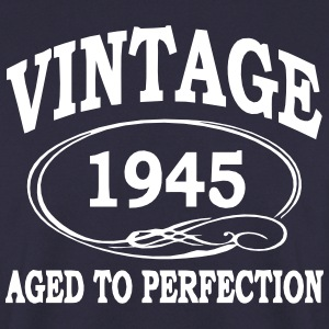 VINTAGE 1945 - Birthday - Aged To Perfection Hoodies & Sweatshirts - Men's Sweatshirt