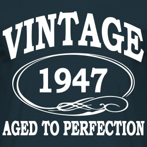VINTAGE 1947 - Birthday - Aged To Perfection T-Shirts - Men's T-Shirt