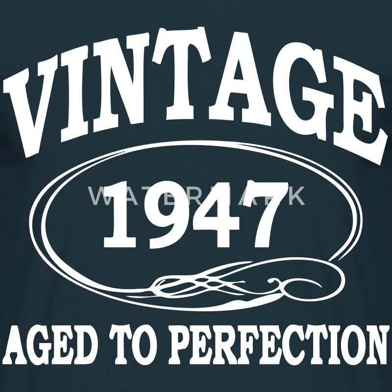 Items Similar To 1947 Birthday Trivia Game: Aged To Perfection T-Shirt