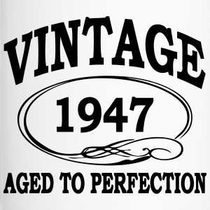 VINTAGE 1947 - Birthday - Aged To Perfection Bottles & Mugs - Travel Mug