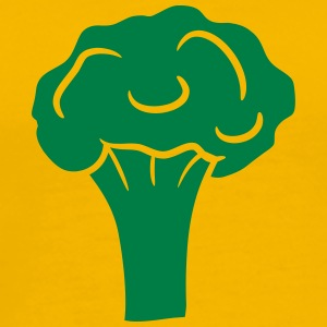 Broccoli blomkål design T-shirts - Herre premium T-shirt