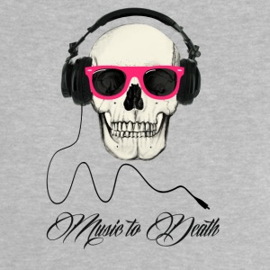 DJ SKULL Music to Death Shirts - Baby T-Shirt