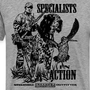 specialist_in_action T-Shirts - Men's Premium T-Shirt