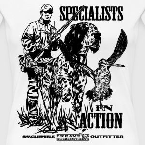 specialist_in_action Tee shirts - T-shirt Premium Femme