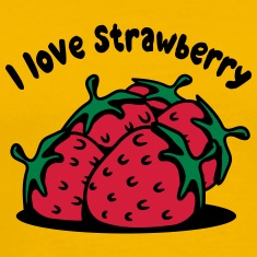 Strawberry fruit organic fruit T-Shirts