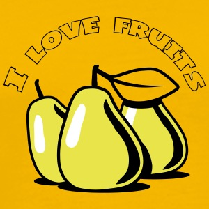 PEAR fruit organic fruit T-Shirts - Men's Premium T-Shirt