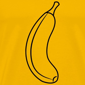 Banaan fruit gezond fruit T-shirts - Mannen Premium T-shirt