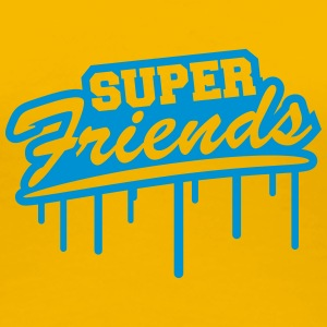 Super Best Friends Graffiti T-Shirts - Women's Premium T-Shirt