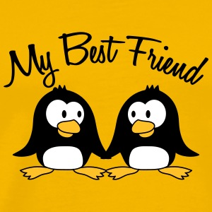 My Best Friend 2 Pinguine T-Shirts - Männer Premium T-Shirt