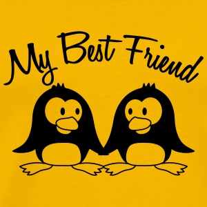 My Best Friend 2 Pinguine T-Shirts - Men's Premium T-Shirt